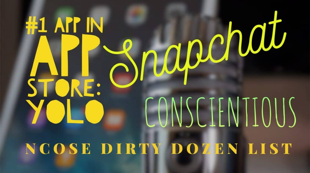 Brave Parenting Podcast: Snapchat, Dirty Dozen List, and Conscientiousness