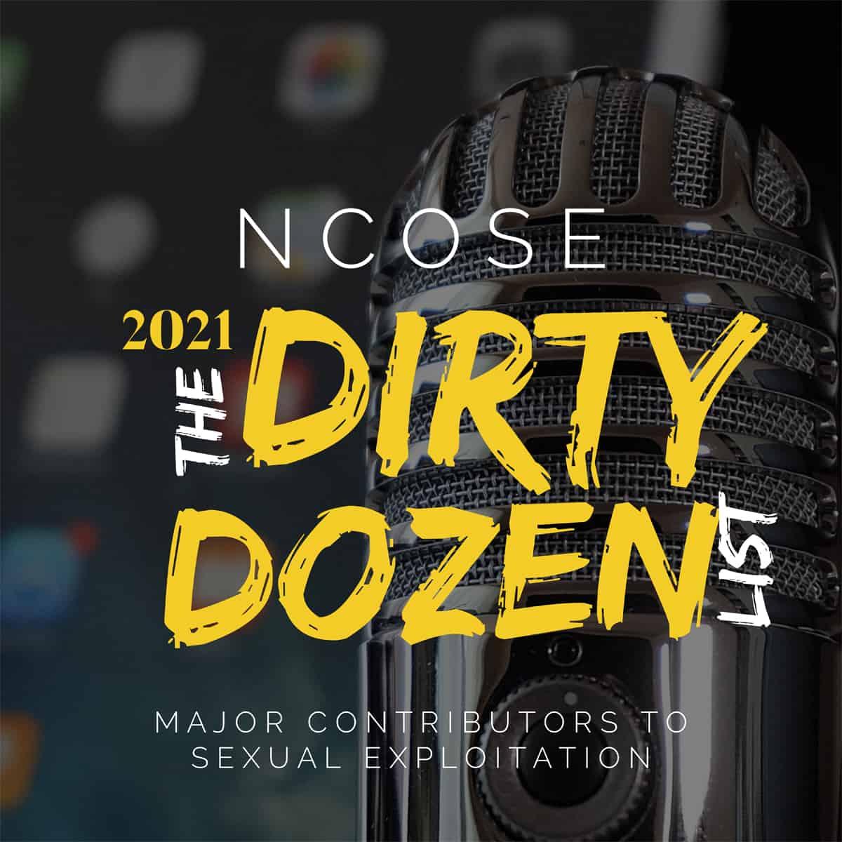 Ep. 62: NCOSE 2021 Dirty Dozen List